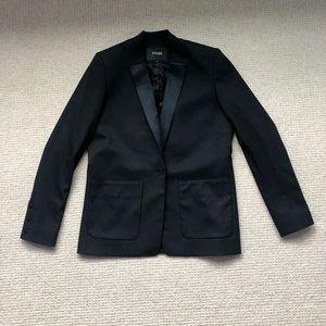 Maje One Button Black Blazer Jacket